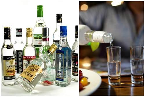 разнообразие сортов алкоголя