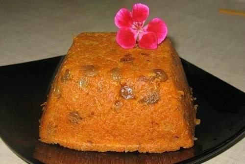 Морковный индийский десерт