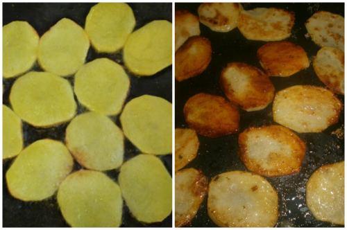 Обжарка картошечки