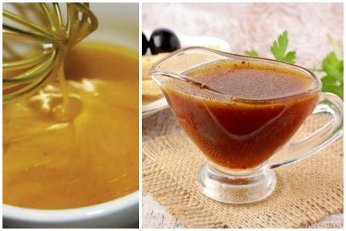 Заправка с медом и горчицей