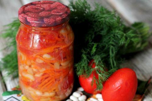 Зимний греческий салат в банке