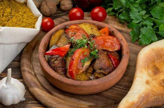 Простое грузинское блюдо