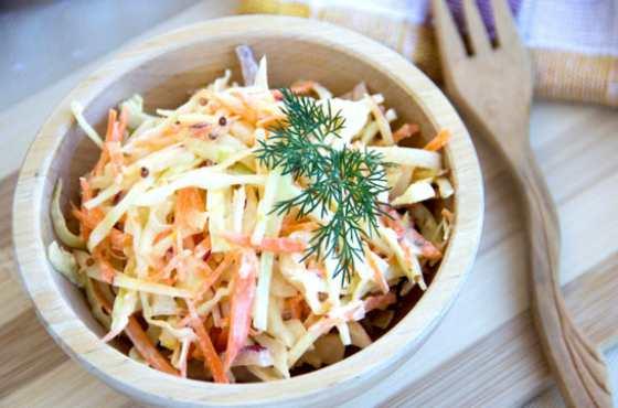 Простой и легкий салатик