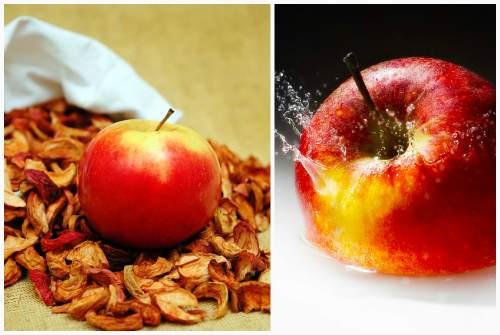 сушеные и свежие плоды