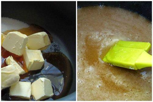Масло и добавление меда
