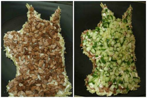 Сборка салатика