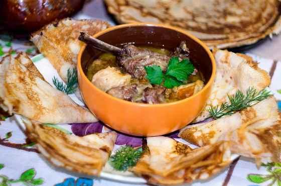 Традиционное белорусское блюдо