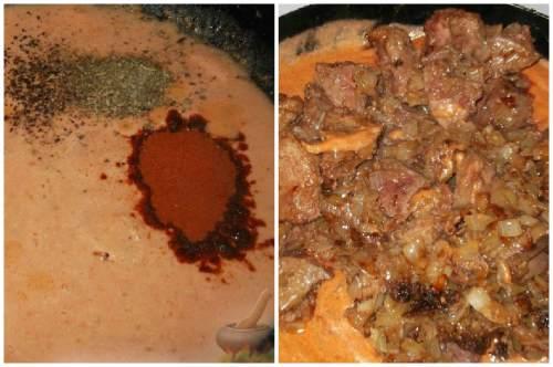 Томатно-сметанный соус
