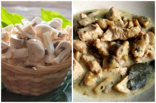 Тандем грибов и мяса