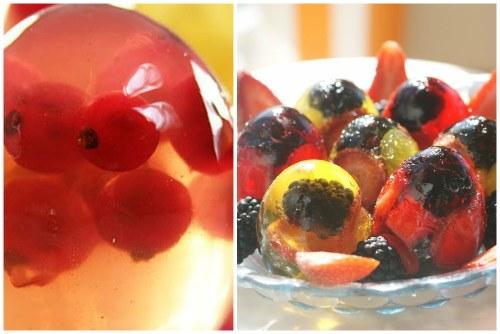 с ягодами и фруктами