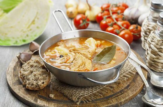 Суп капустняк