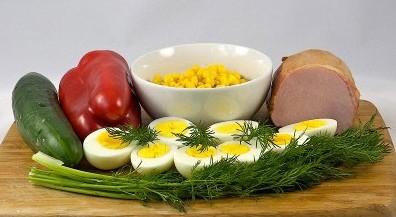 продукты для готовки блюда