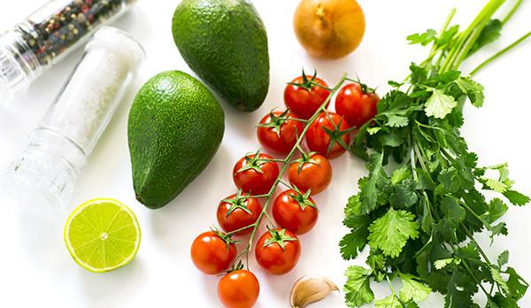 продукты для готовки мексиканского блюда