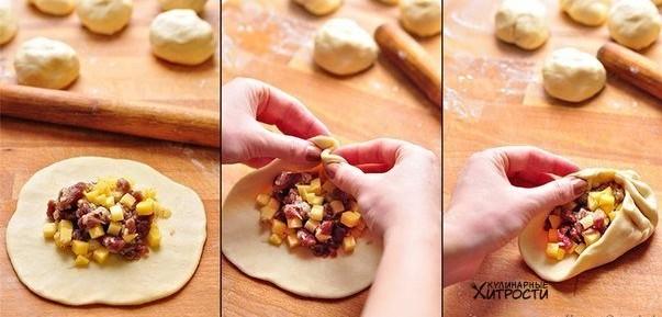процесс создания пирожков