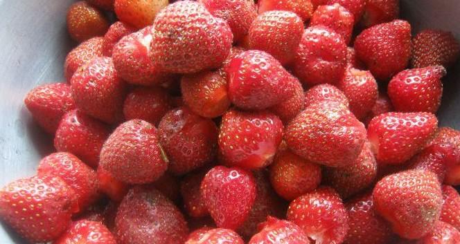 свежие ягодки
