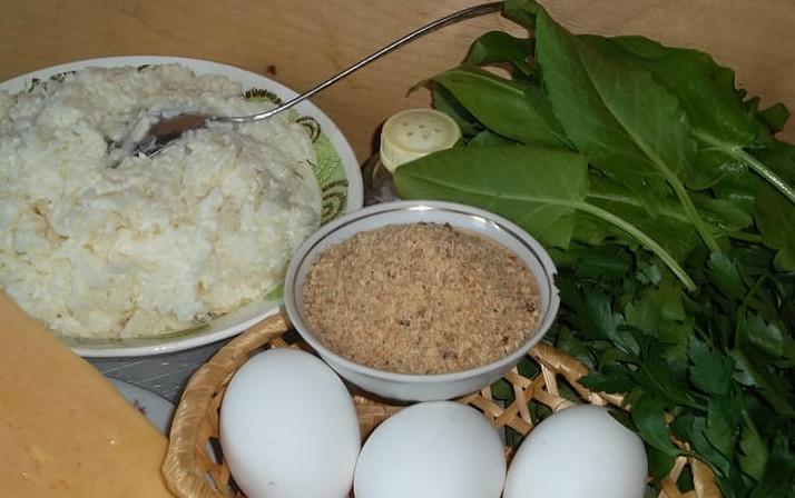 ингредиенты на щавелевый рецепт