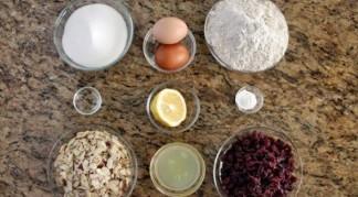 ингредиенты на готовку итальянских печений