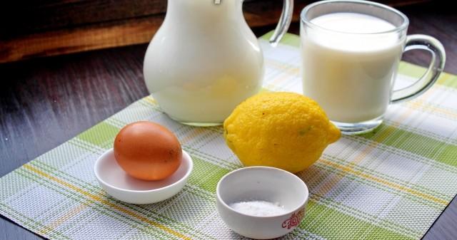 ингредиенты для сыра Филадельфия