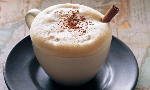 ароматный венский кофе с корицей