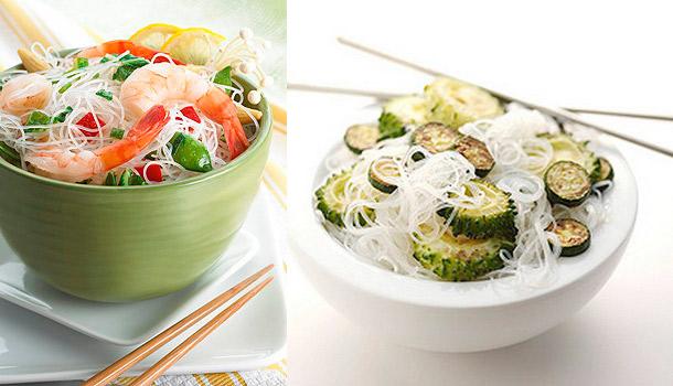 блюда с китайской фунчозой