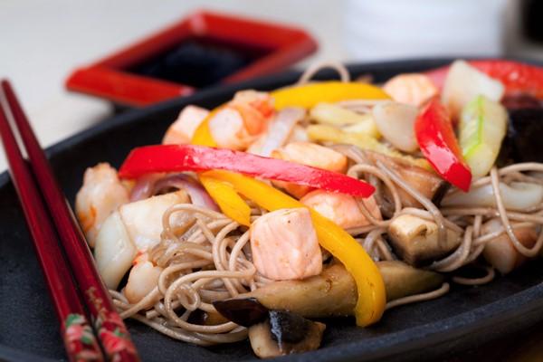 японское блюдо с курицей