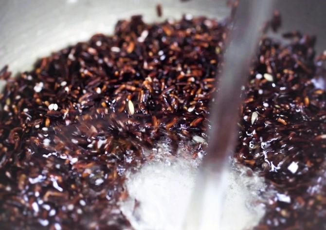подготовка риса