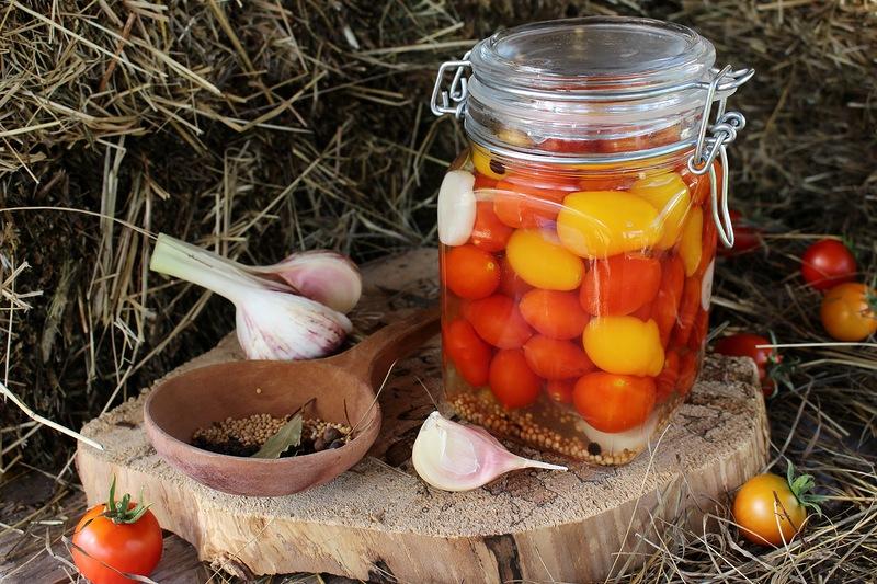 готовые томаты в маринаде