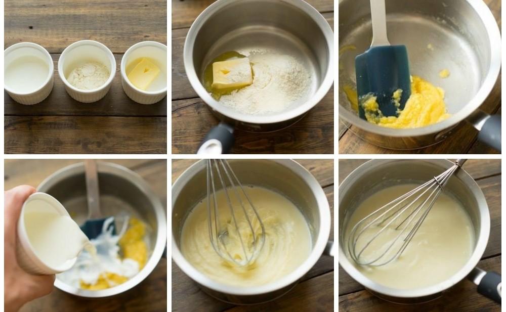 схема приготовления блюда