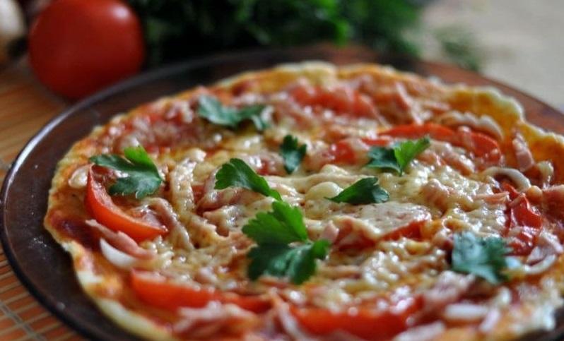 итальянское блюдо на сковороде