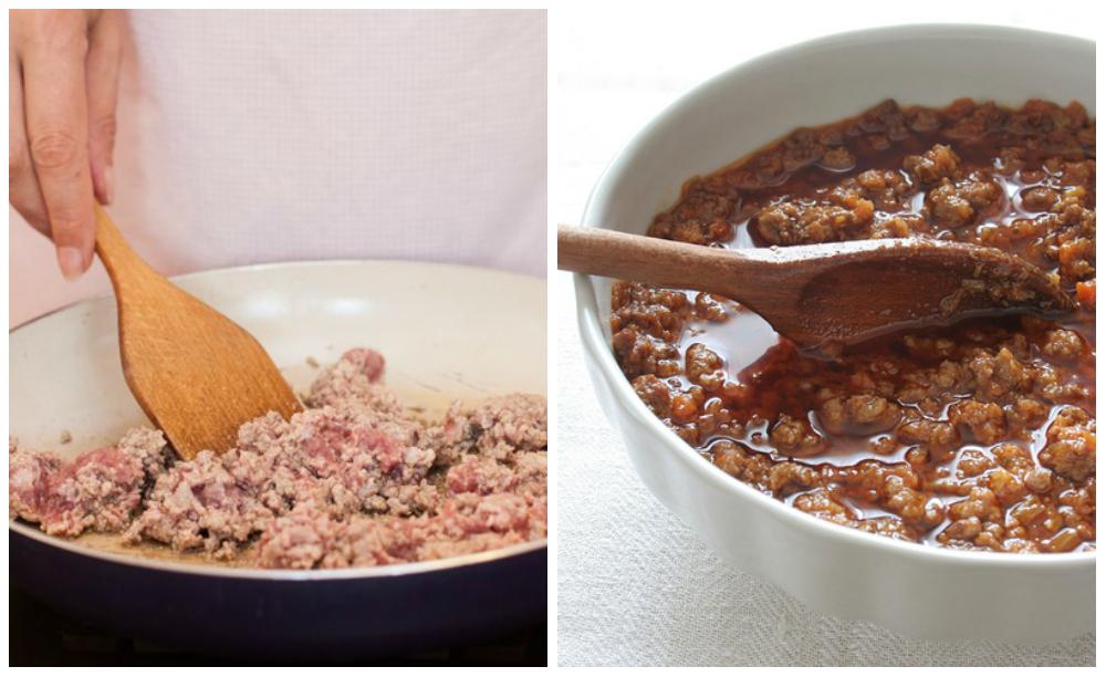 приготовление мясного соуса