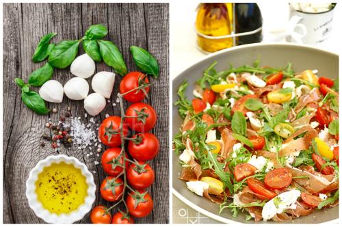 компоненты на салат