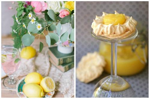 лимонные меренги