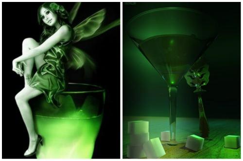 напиток зеленой феи