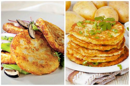 румяное блюдо- картофельные деруны