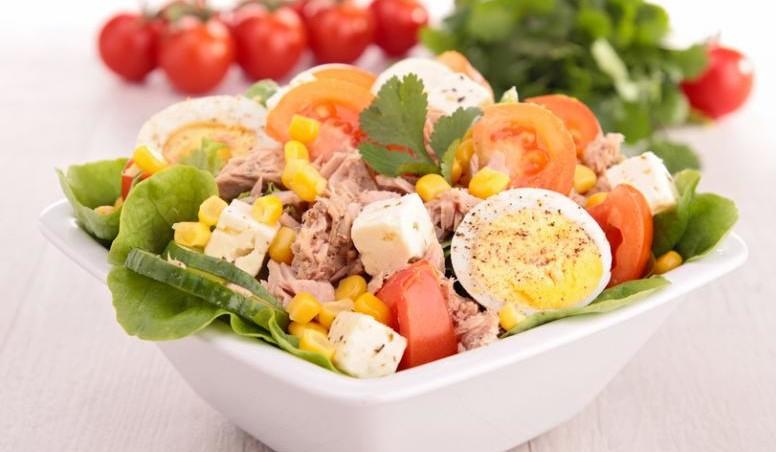 рыбно-сырный салат