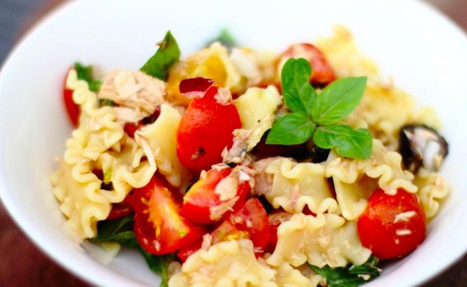 яркое блюдо итальянской кухни