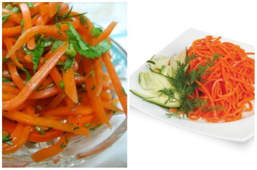 корейская морковка