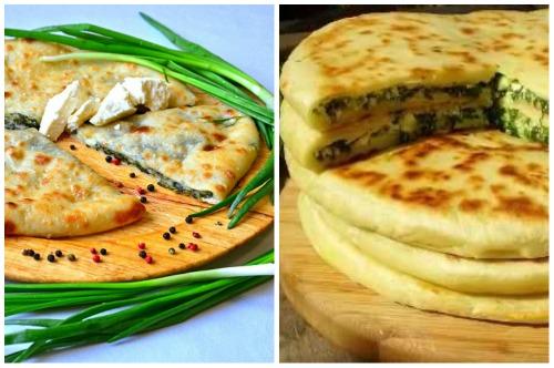 национальное блюдо Осетии