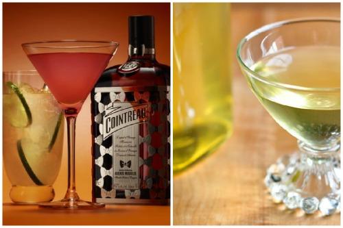 рюмки с алкогольным напитком
