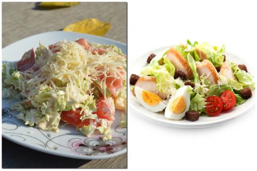 два аппетитных салата