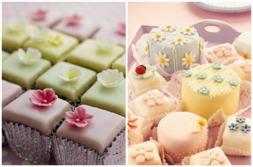 petits fours покрытые мастикой