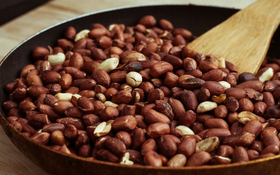 арахис жаренный в домашних условиях