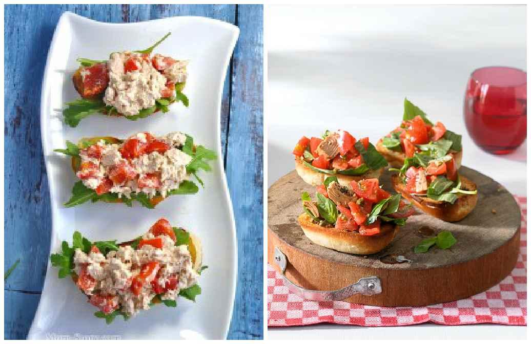 бутербродики с тунцом по-итальянски