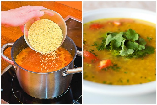 ароматный суп