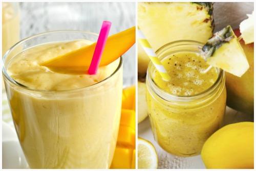манго и ананас