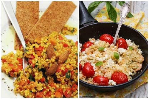 рецепт с овощами