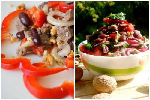 аппетитный грузинский салатик