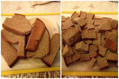 домашний квасок из Бородинского хлеба