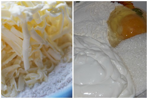 готовка теста и крема