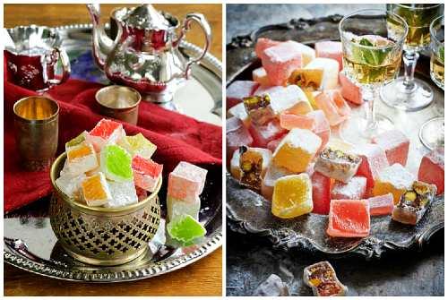 сладость к чаю